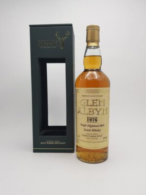 Glen Albyn 1976 god, Eksklusiv Whisky - Scotch Whiskey - foto