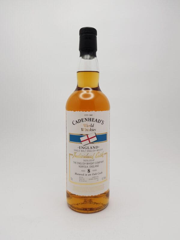 The English Whisky Co. 8 yo (2010/2019), Cadenhead's, 64.9%