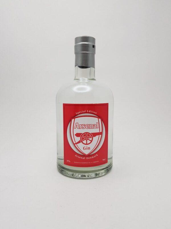 Arsenal gin god, Eksklusiv gin - foto - photo - exclusive Arsenal gin