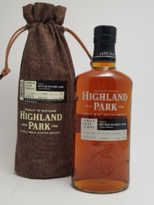 Highland Park single cask Bottega - eksklusiv whisky - foto