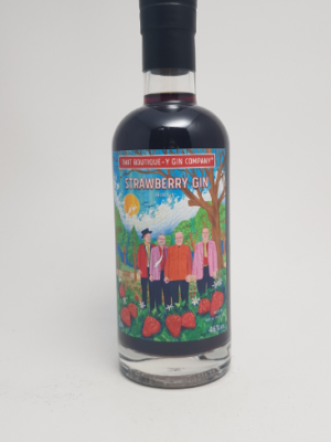 Jordbær gin - strawberry gin - That Boutique-y gin - foto