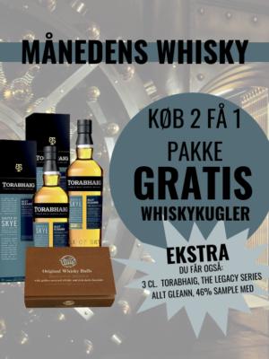 Torabhaig, The Legacy Series - Allt Gleann, 46% oktober måneds whisky - foto